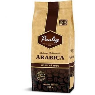 Кофе молотый Paulig Арабика в пакете, 250гр - Officedom (1)