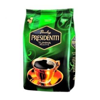 Кофе в зернах Paulig Президентти в пакете, 1000гр - Officedom (1)