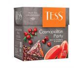 Чай травяной Tess Cosmopolitan Party, 20 х 2 г, пирамидки | OfficeDom.kz