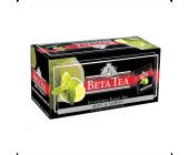 Чай черный Beta Tea Mint&Lemon, Мята и Лимон, 25 х 2 г, пакетированный | OfficeDom.kz