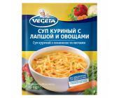Суп куриный с лапшой и овощами Vegeta, 45 г | OfficeDom.kz