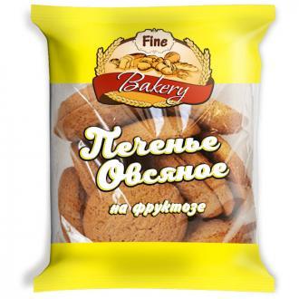 Печенье овсяное Fine Bakery диабетическое, 350 г - Officedom (1)