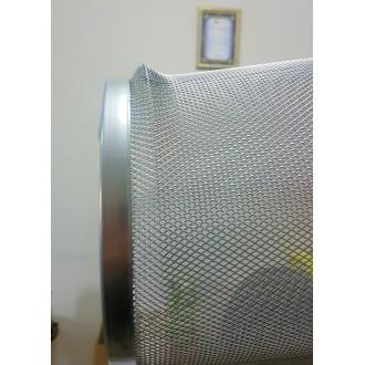 Корзина для мусора метал., 12 л, серебристый (уценка) - Officedom (2)