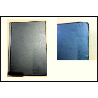 Ежедневник недатированный А5, черный, желтые страницы (уценка) - Officedom (2)