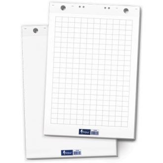 Блок бумаги flipchart, 60х85 см, 20листов, белый (уценка) - Officedom (1)
