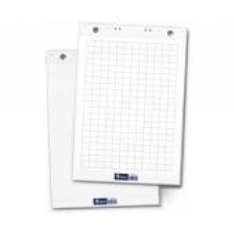 Блок бумаги flipchart, 60х85 см, 50листов, белый (уценка) - Officedom (1)