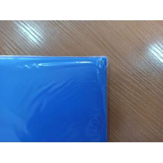 Папка-бокс для бумаг на эластичных резинках Centrum, А4, 0,60 мм, ПП, голубой (уценка) - Officedom (2)