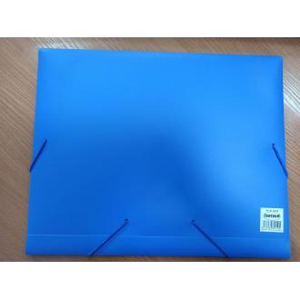 Папка-бокс для бумаг на эластичных резинках Centrum, А4, 0,60 мм, ПП, голубой (уценка) - Officedom (1)