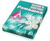 Бумага писчая Ромашка, А4, 250л, 1 кг | OfficeDom.kz