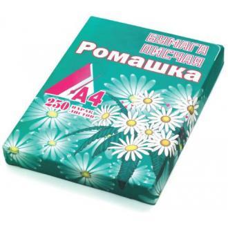 Бумага писчая Ромашка, А4, 250л, 1 кг - Officedom (1)