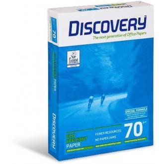 Бумага офисная Discovery A4, 70г/<wbr>м2, 500л, белая - Officedom (1)