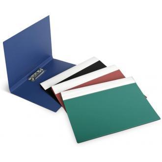 Папка для бумаг с прижимом ECO А4, синий - Officedom (1)