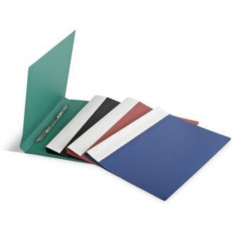 Папка для бумаг с пружинами ECO А4, черный - Officedom (1)