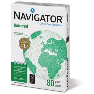 Бумага офисная Navigator Universal A4, 80г/<wbr>м2, 500л, белая - Officedom (1)