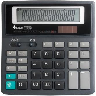 Калькулятор больш.14 разр.двойн. питание - Officedom (1)