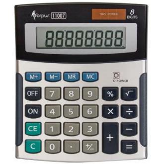 Калькулятор мал.8 разр.двойн. питание - Officedom (1)