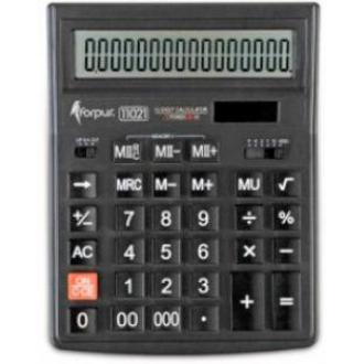 Калькулятор большой 16 разр., 200х154х36мм., двойн. питание - Officedom (1)