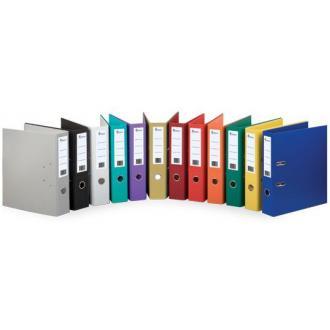 Папка-регистратор А4 с бок. карман, 50 мм, серый - Officedom (1)