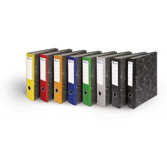 Папка-регистратор мрамор-желтый, А4, 50мм - Officedom (1)