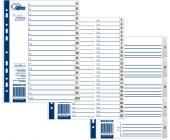 Разделители документов РР А4, А-Я, серый | OfficeDom.kz