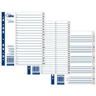 Разделители документов РР 1-6 (maxi) - Officedom (1)