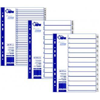 Разделители документов А4, 10-1 (обратные) - Officedom (1)