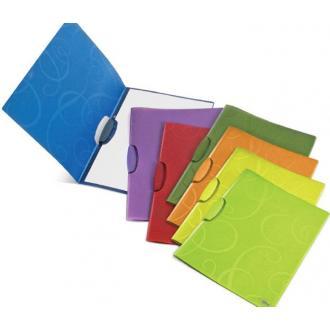 Папка с зажимом BAROCCO, А-4, фиолетовый - Officedom (1)