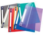 Скоросшиватель РР, А4, проз. тит. обложка, синий | OfficeDom.kz