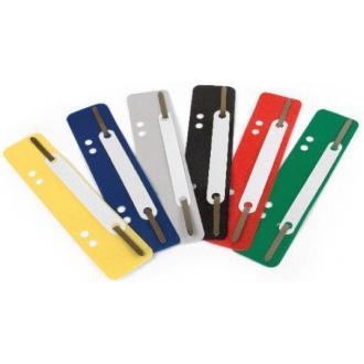 Вставка-скоросшиватель для регистратора, 25 шт/<wbr>уп, серый - Officedom (1)