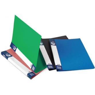 Папка для бумаг с пружинами РР А4, синий - Officedom (1)