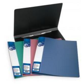 Папка для бумаг с пружинами РР, А4, 0,5 мм, светло-красный - Officedom (1)