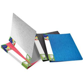 Папка для бумаг с пружинами DUNE, А4, 0,6 мм, синий - Officedom (1)