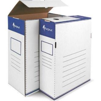 Коробка для документов А4, гофрокартон, 120мм - Officedom (1)