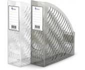 Лоток для документов А4 вертикальный, прозрачный | OfficeDom.kz