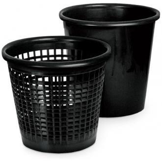 Корзина для мусора 12,5л сетчатая, черный - Officedom (1)