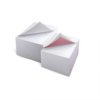 Бумага д/<wbr>принтеров с перф. 210мм, 450л., 4 сл. цв. - Officedom (1)
