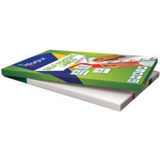 Наклейки А4, 99,1х67,7мм, 8/<wbr>лист, 100 листов - Officedom (1)