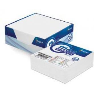 Бумага д/<wbr>заметок 9х9см в картонной подставке, 300л, белый - Officedom (1)