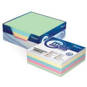 Бумага д/<wbr>заметок 9х9см в картонной подставке, 300л, цветной - Officedom (1)