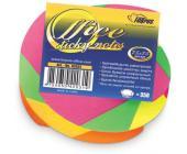 Блок бумаги для заметок NEON TWISTED, 75х75мм, 350 л. яркие неоновые цвета | OfficeDom.kz