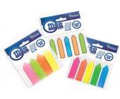 Набор клеевых закладок 12х44мм, 5 цв.х 25шт, стрелка, пластиковые | OfficeDom.kz