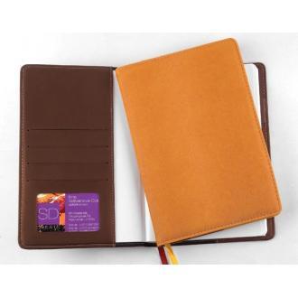Ежедневник недатированный Executive Agenda, А5, коричневый - Officedom (1)