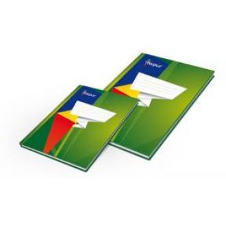 Книга учета А4, глянцевая обл. твердый переплет, 96 л., клетка - Officedom (1)