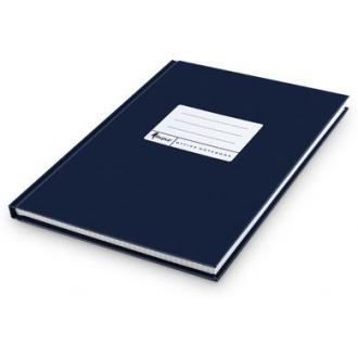 Книга учета А4, матовая обл. твердый переплет, 96 л., клетка, синяя - Officedom (1)