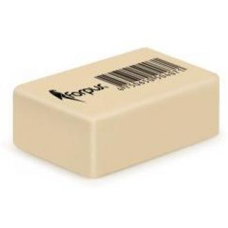Стирательная резинка Non-Dust, 39х24х14 мм, желтая - Officedom (1)