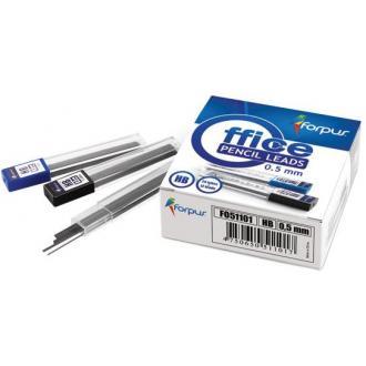 Грифели д/<wbr>механ. карандашей 0,5 мм, Н, 12шт х 60мм - Officedom (1)