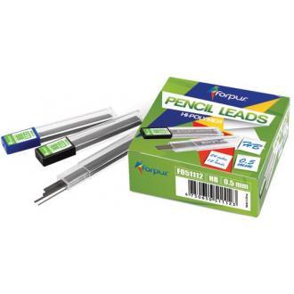 Грифели для мех. карандашей 0,5 мм, НВ, Hi-polymer - Officedom (1)