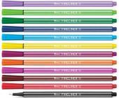 Набор капилярных ручек Forpus, 0,4 мм, 12 цветов | OfficeDom.kz