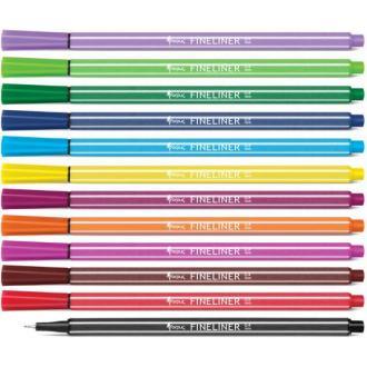 Набор капиллярных ручек Forpus, 0,4 мм, 12 цветов - Officedom (1)