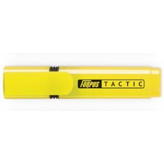 Маркер текстовой TACTIC скош. 2-5мм, желтый - Officedom (1)